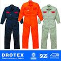 La norma astm f 1506 88% de algodón/12% de nylon a prueba de fuego de prueba de arco de seguridad sobretodo