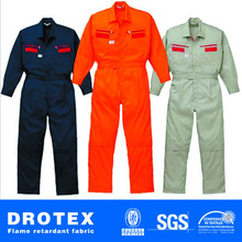 ASTM F 1506 88% Cotton/12% Nylon Fireproof Arc Proof Safety Coverall