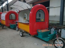 motorcycle fiberglass Food Vending Car With Electric tricycle food electric car carts/food tricycle YS-TG230