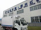 4ton ice cream trucks for sale/van box truck/freezer van truck