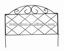 Azalea Classic Decorative Steel Landscape Border Fence Section
