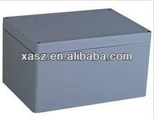 Ip65 aluminum watertight electrical distribution box 330x230x180 mm