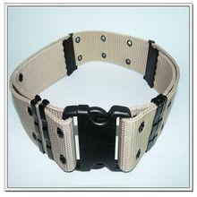 57mm pp military belt with plastic buckle,adjustable belts.custom web belts