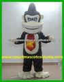 eva material de la felpa traje de gorila visual buena gorila adulto traje para la venta