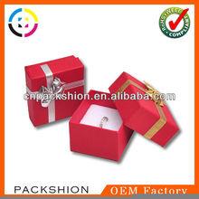 Lovely Custom Paper Jewelry box Ring Box