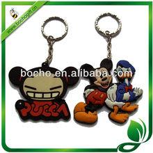 promotion gift soft pvc keychains
