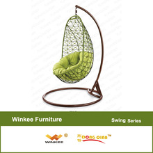 bedroom swing chair leisure garden furniture wooden garden swing