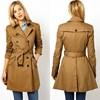 2014 Fashion Design Women Trench Coat / Women Ladies Coats