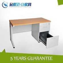 Multi-utility wooden desktop metal frame office drawing desks topchina furniture