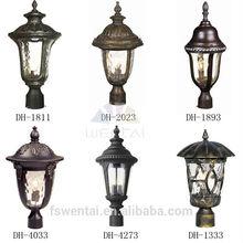 Die-casting aluminum classic garden bollard light