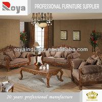 European style solid wood carving antique hotel furniture manufacturer ES005
