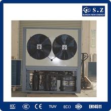 Big bathroom project heating save 70% power COP4.23 12kw,19kw,35kw,70kw,105kw portable electric shower water heater heat pump