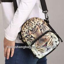Fashion Mutifunctional Design Leopard Print Cell Phone Shoulder Bags Crossbody Bag Waist Bag for Women Bistar BBP101W