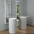 Foshan italiano independiente Pedestal lavabo WD38151