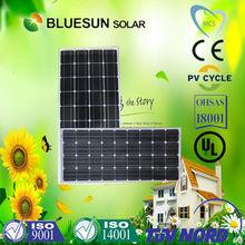 hot sell best price mono solar panel 130w