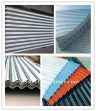 GI galvanized corrugated steel roofing sheet China supplier
