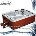 nuevo estilo de spa piscina sin fin jy8003 3 asientos 2 y tumbonas