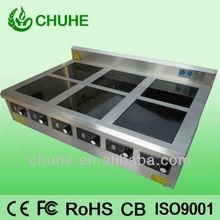 De cocina deinducción equipo( 6 gama quemador)