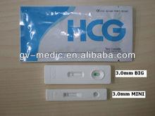 Highly sensitive HCG Pregnancy Test cassette