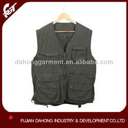 custom mens fishing vest