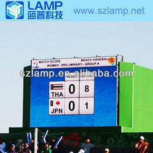 LAMP P10 full color scoreboard