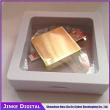 Golden Metal usb flash drive16GB,32GB,OTG iphone USB Flash Drive for iPhone 6