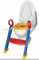 new baby training toilet seat with ladder/EN71/trainer