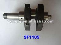 SF1105 Single Cylinder Diesel Engine Crankshaft