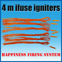 Fedex/DHL Free Shipping 4 M Ifuse igniters, Safety ignitors, Electric match with Pyrogen, with Gun powder for fireworks display