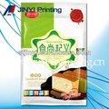 qualidade de impressão de plástico flexível embalagem cupcake