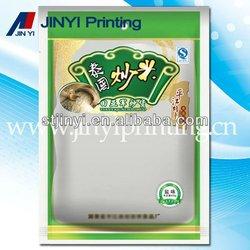 Laminated printed food packaging plastic films bag