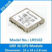 LR9102 SiRF III GPS TTL Module UART GPS Module gps chip module 15x14x2.8mm