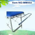 2013 venda quente mesa de massagem toalha trilho ferroviário aquecido toalha
