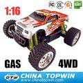 1 16th escala de Gas rc coches escala R / C Gas 94286 juguete del carro de monstruo