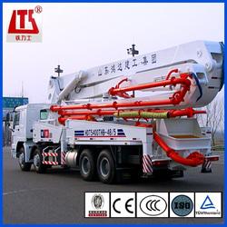 48m Concrete Boom Pump Truck ISUZU Chassis China Hongda Brand