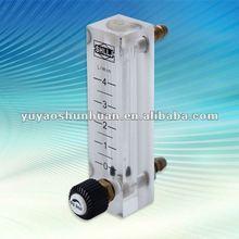 Oxygen flow meter air flow controller