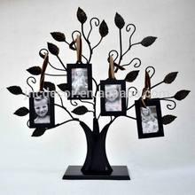 Tree shape metal photo frame