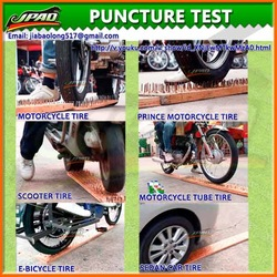 Flat Tire Repair With Tyre Sealant