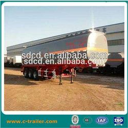 2014 HOT! 45000L carbon steel fuel tank semi trailer