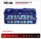 VCOM New Design 1 to 4 ports Auto KVM Switch
