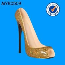 New fashion leopard skin high heel shoe Wine Holder