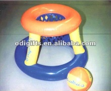 kids inflatable foldable basketball toy PVC air basketball stand portable basketball stands