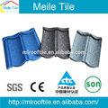 Matériaux de construction classique bond toit pas cher prix de tuiles de pierre tuile métallique revêtue