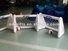 folding PVC air soccer goal portable mini football goal mesh football goal