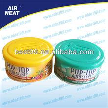 70g 100g 200g gel air freshener 2oz 3.5oz 8oz can air freshener solid air freshener water base and oil base