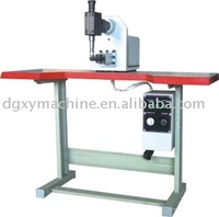 Desk top shoe mouth beating evenly shoe making Machine