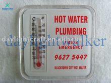 Customized OEM Plastic Thermometer Fridge Magnet