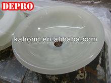 beatiful jade small snow white wash basin sink