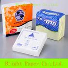 Disposable White Paper Napkins