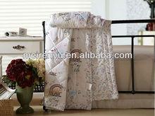 China 100% cotton 3d duvet cover set children line beautiful bed sheet sets hotel beddnig set